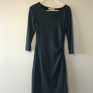 Ann Taylor LOFT 3/4 Sleeve Sweater Career Dress XS